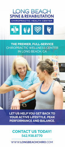 Services flyer for Long Beach Chiropractor best chiropractic care natural pain relief