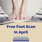 April Promo Foot Scan